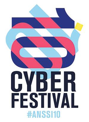 Logo - ANSSI 10 ans - Cyber festival